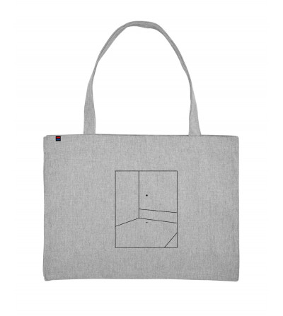Shopping Bag Gris Lines