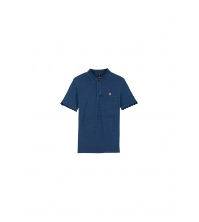 Polo Frontis Whased Blue